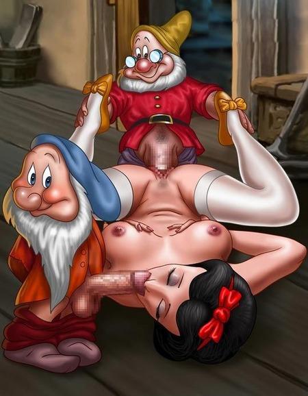 Snow White and the Seven Dwarfs Porn Pictures, XXX Photos