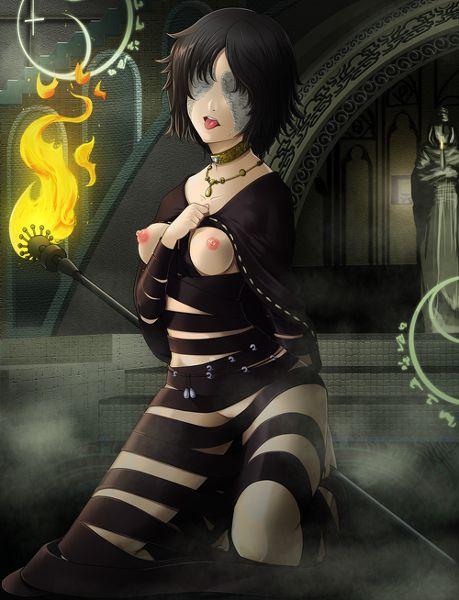 デモンズソウル 黒衣の火防女 エロ画像 こくいのひもりめ (6)