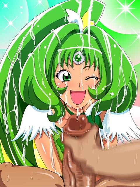 キュアマーチ エロ画像 スマイルプリキュア 緑キュア (24)