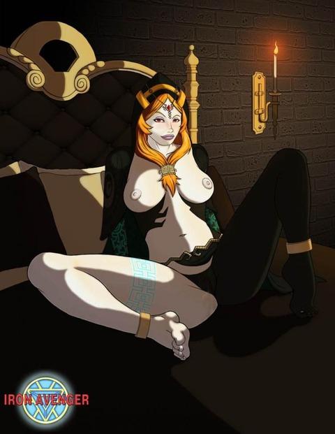 ミドナ トワイライトプリンセス エロ画像 ゼルダの伝説 (25)