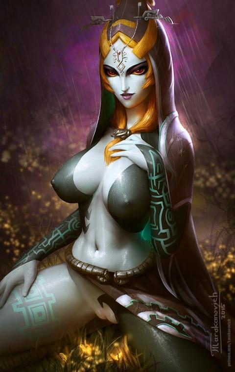 ミドナ トワイライトプリンセス エロ画像 ゼルダの伝説 (2)