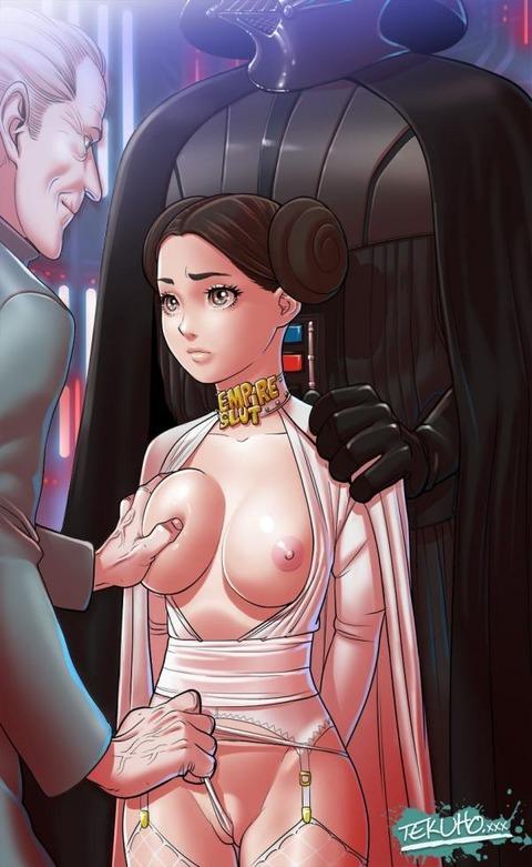 スターウォーズ エロ画像 レイア姫 レイア・オーガナ  スター・ウォーズ starwars  キャリー・フィッシャー (1)