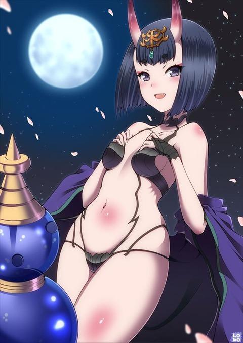 酒呑童子 エロ画像 しゅてんどうし fgo fate フェイト (28)