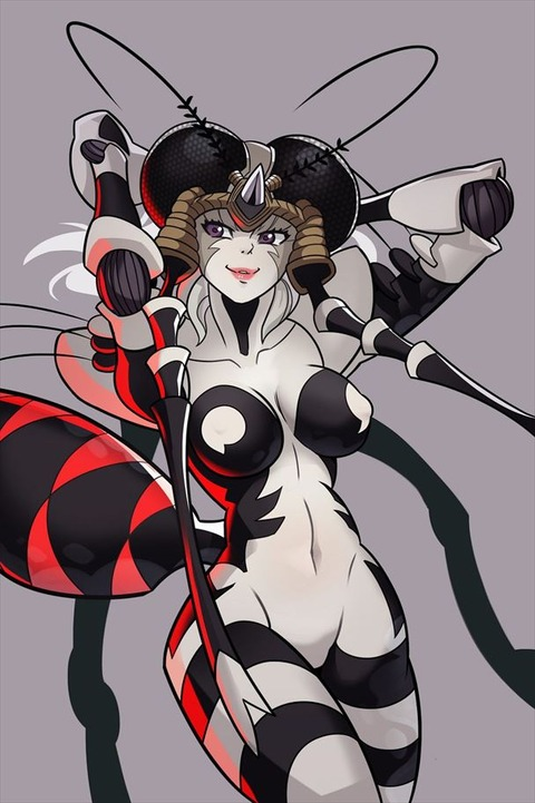 モスキート娘 エロ画像 蚊娘 ワンパンマン (4)