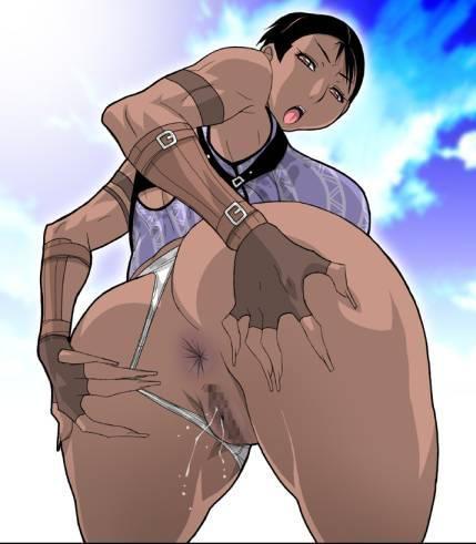 黒人女性 シェバ・アローマ エロ画像 バイオハザード5 (10)
