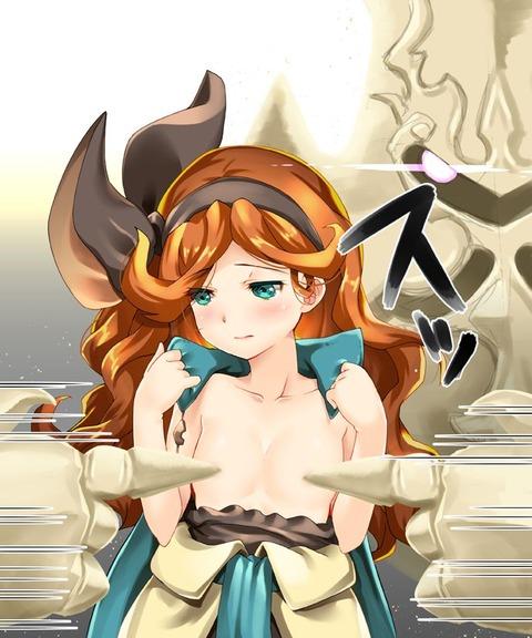 剋命の巫女サラ エロ画像 グラブル グランブルーファンタジー (23)