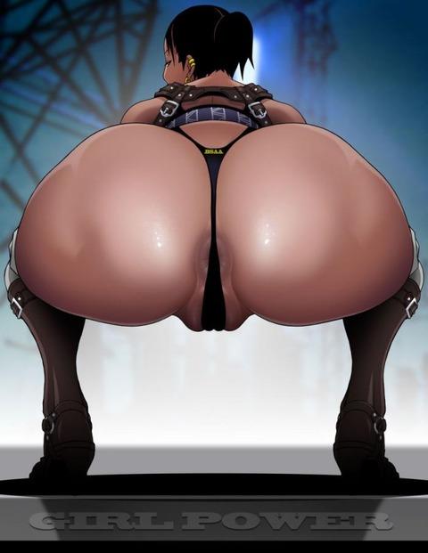 黒人女性 シェバ・アローマ エロ画像 バイオハザード5 (62)