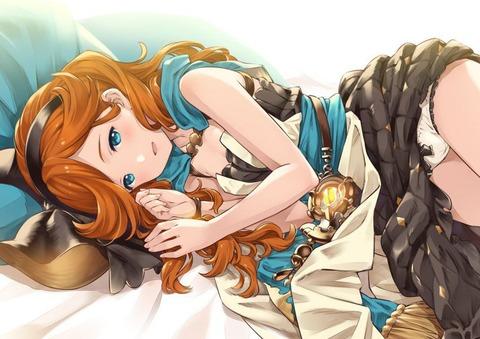 剋命の巫女サラ エロ画像 グラブル グランブルーファンタジー (24)
