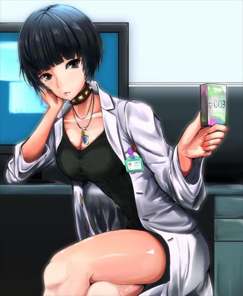 女医 武見妙 エロ画像 武美妙 ペルソナ5 p5 たけみたえ(1)