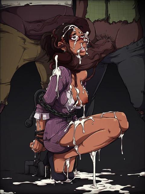 黒人女性 シェバ・アローマ エロ画像 バイオハザード5 (28)