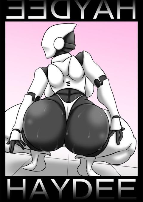 尻神様 ロボ娘  ヘイディー haydee エロ画像 ロボット(29)
