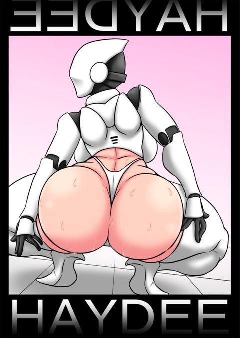 尻神様 ロボ娘  ヘイディー haydee エロ画像 ロボット(28)