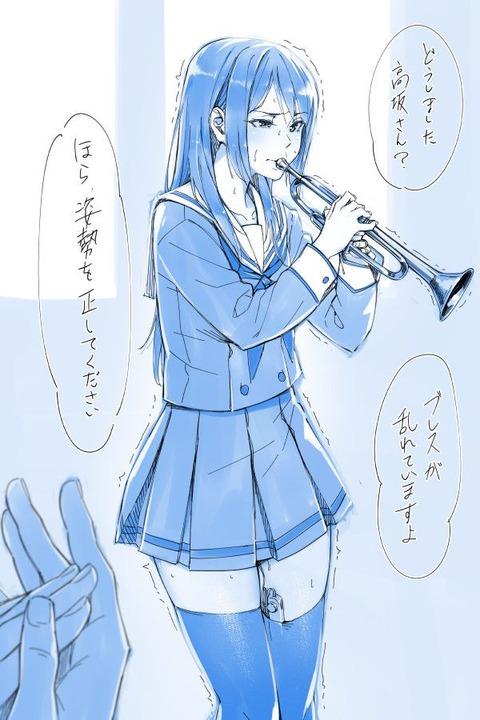 高坂麗奈 エロ画像 響け!ユーフォニアム 香坂麗奈 (40)