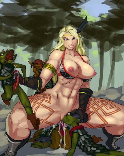 ドラゴンズクラウン アマゾン エロ画像 (30)