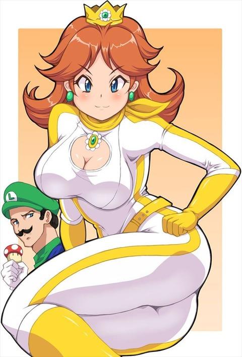 デイジー姫 ディジー姫 エロ画像 マリオシリーズ (71)
