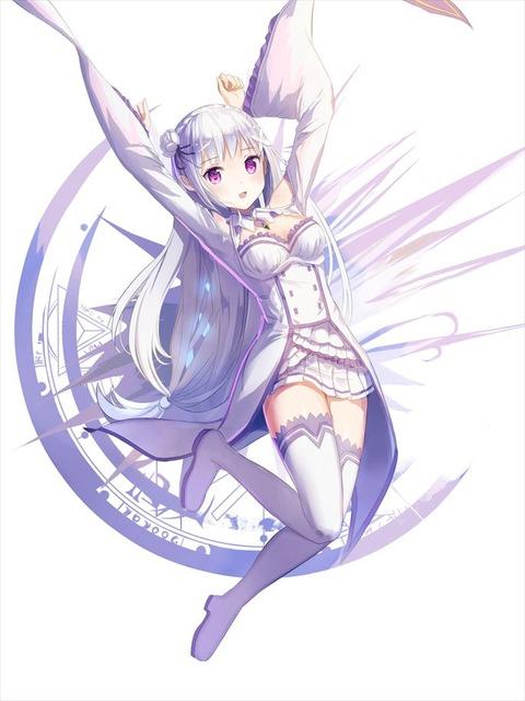 リゼロ Re:ゼロから始める異世界生活 エミリア エロ画像(42)