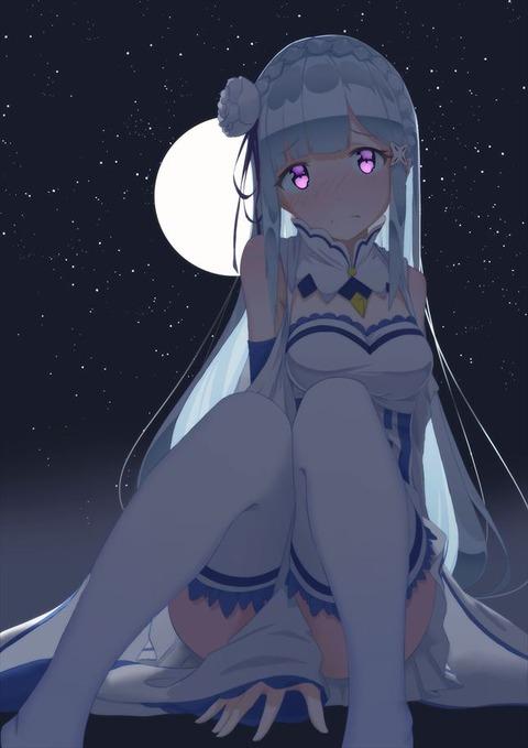 リゼロ Re:ゼロから始める異世界生活 エミリア エロ画像(36)