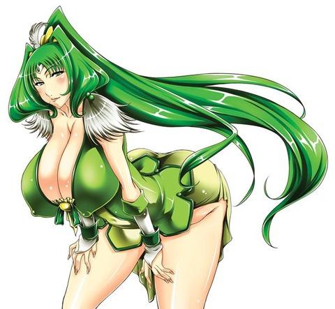 キュアマーチ エロ画像 スマイルプリキュア 緑キュア (74)