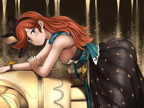 剋命の巫女サラ エロ画像 グラブル グランブルーファンタジー (19)