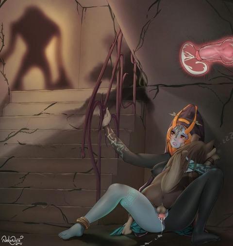 ミドナ トワイライトプリンセス エロ画像 ゼルダの伝説 (33)