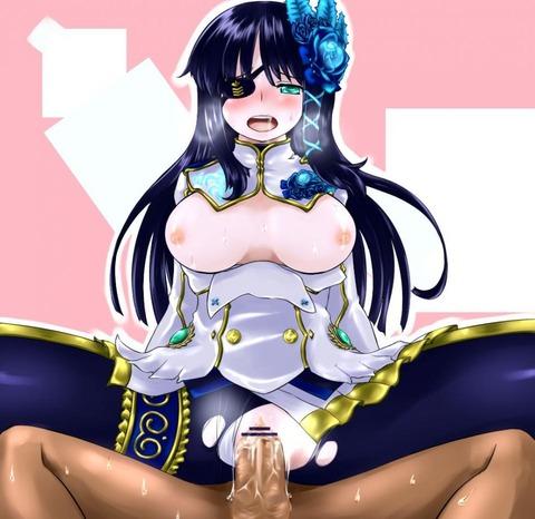 PSPo2 ナギサ エロ画像 ファンタシースターポータブル2(8)