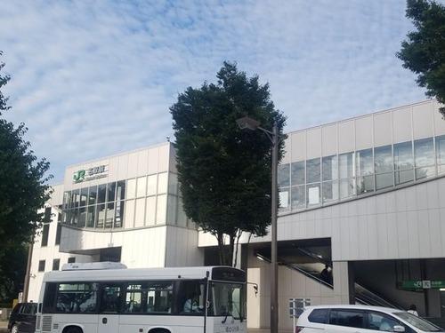 JR東北線名取駅