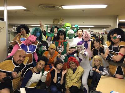 田中真弓ドラゴンボール芸人集合写真