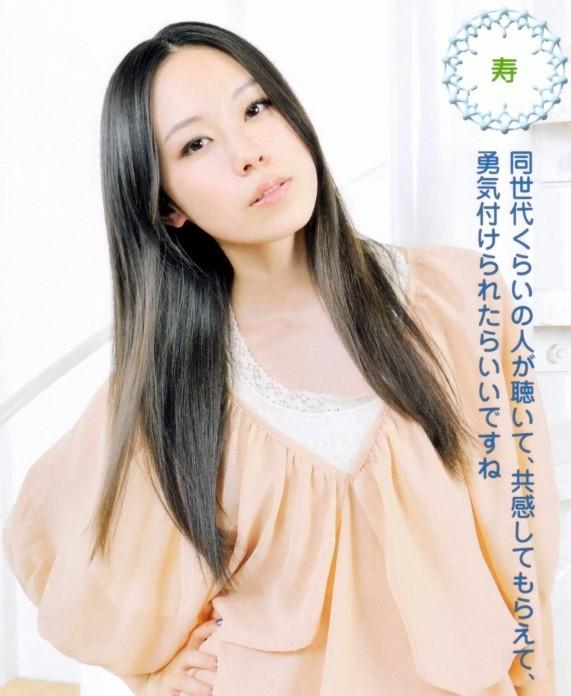 髪のアクセサリーが素敵な寿美菜子さん