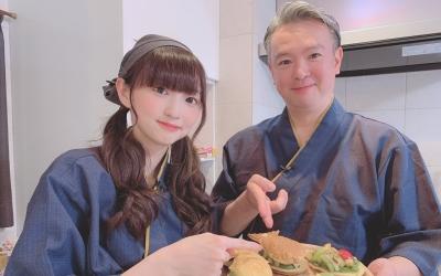 【田中美海】動画番組にお父様がゲスト出演