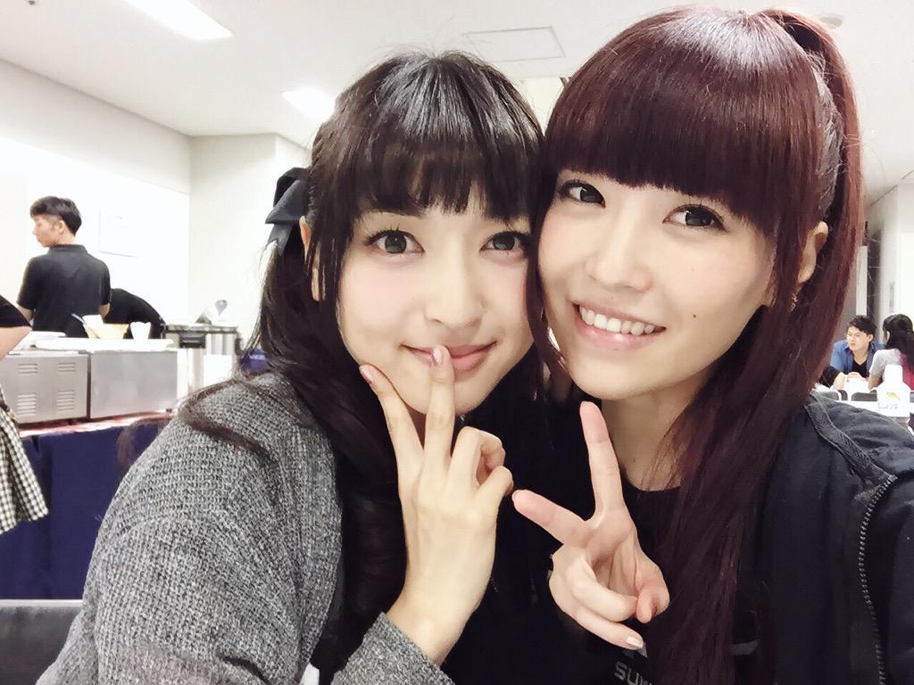 三森すずこ 神田沙也加 中学の同級生で同じクラスだった2人が