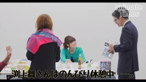 【声優動画】 5月28日は渕上舞さんのお誕生日! サプライズケーキでお祝い!