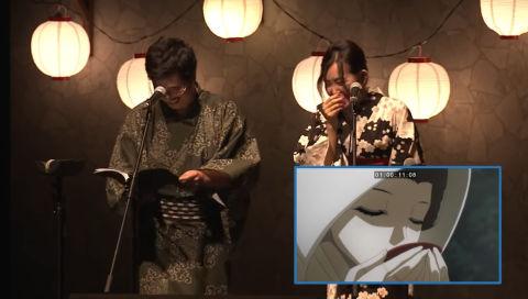 声優の新井里美さん、イベントで生アフレコ中なのにガッツリ笑ってしまうwwwwwww【動画あり】