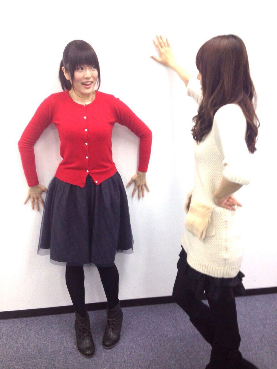 大好き!女性声優『加隈亜衣』さんと『藤井ゆきよ』さんが壁ドンごっこコメントコメントする