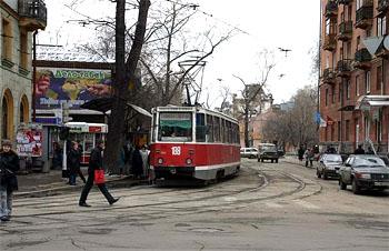 イルクーツクの街並み