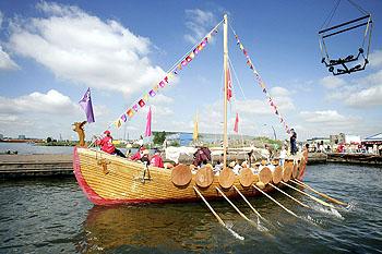 アイス棒の海賊船