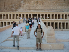 エジプト ルクソール ハトシェプス女王葬祭殿