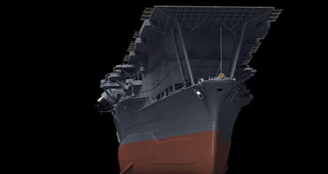 【動画】海外「70年も前に日本は空母を所有していた‥」帝国海軍空母赤城の3D映像をご覧ください 海外の反応