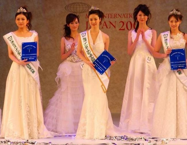 ミスインターナショナル日本代表、白田久子さん