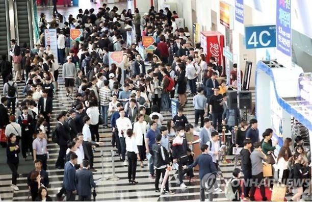 韓国の青年失業率が悪化