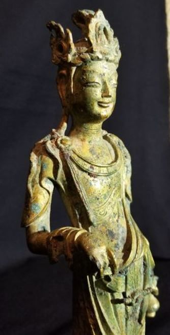 金銅觀音菩薩像