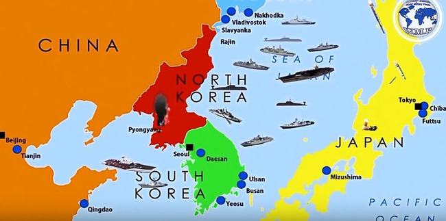 朝鮮戦争シュミレーション