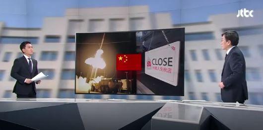 中国のサード報復