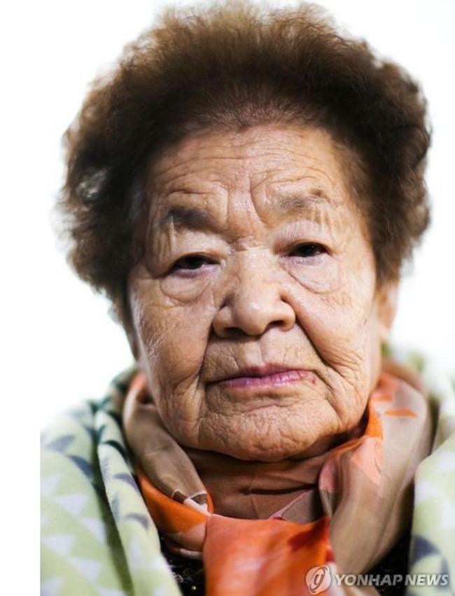 日本軍慰安婦被害者キム・グンジャさん