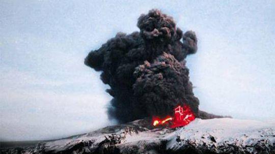 白頭山噴火