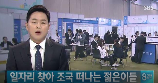 韓国の青年就職難