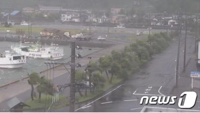 台風5号の被害