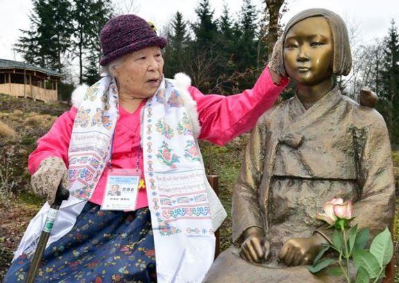 ドイツに建てられた慰安婦少女像が撤去危機