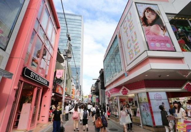 若い女性の間で韓流ブーム