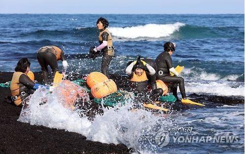 韓国の海女文化