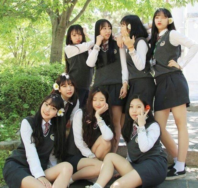 韓国の美人女子高生